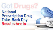 Alaskans turned in 1,838 pounds of prescription medication during the fifth Drug Enforcement Administration (DEA) National Prescription Take-Back event on September 29.