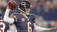 The Bears can move quarterback Jay Cutler out of the pocket Sunday in Jacksonville using boot action on third down situations needing 2 to 6 yards. The Bears can establish the run, set the bait and win on crucial downs by giving Cutler multiple targets in the passing game.