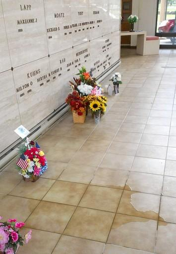 Some visitors to Cedar Hill Memorial Park are complaining about the condition of the cemetery's mausoleum, which they say leaks.