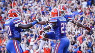 GAINESVILLE — Knocked down, pushed around and beaten up for 30 minutes, the Florida Gators offense had been at the mercy of LSU's physical defense all day long.