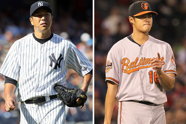 <b>Yankees: </b> The depth in the starting rotation makes this a formidable group. Only the Rangers' rotation had more wins, and only the Seattle Mariners logged more starters' innings. The rotation had a collective 4.05 ERA, better than the Orioles' 4.42 mark. But without the injured Mariano Rivera, the Yankees' bullpen hasn¿t been as dominant (3.43 ERA, seventh in the AL) as it has in past years.<br>