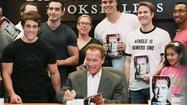 At book-signing, Schwarzenegger fans are in a forgiving mood