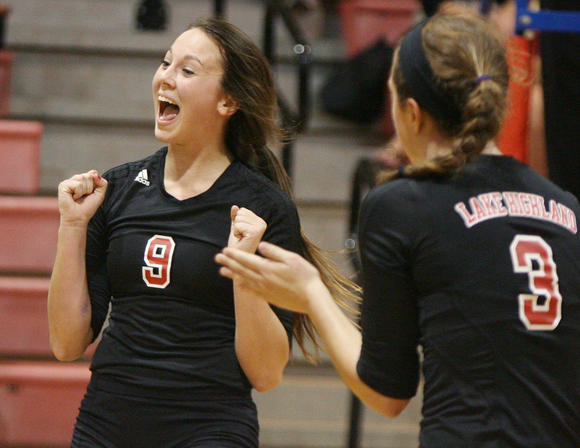 Shannon McDonough led Lake Highland's girls volleyball team to a championship victory over Boone at the Tampa Bay Invitational on Saturday.
