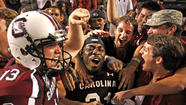 In the SEC, the sun smiles on South Carolina and Florida