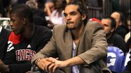 Joakim Noah missed practice for the second straight time on Sunday as he attends to a personal matter, Bulls coach oach Tom Thibodeau said.