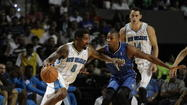 The Orlando Magic's starters played well against the New Orleans Hornets' starters in the teams' preseason opener Sunday afternoon. But the Magic's reserves faltered — at least in the game's final quarter.