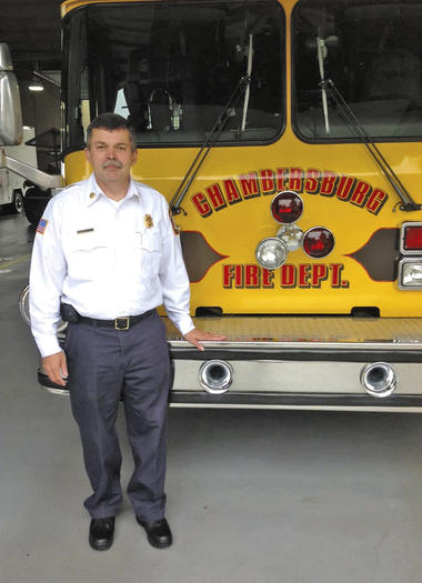 Chambersburg assistant emergency services chief
