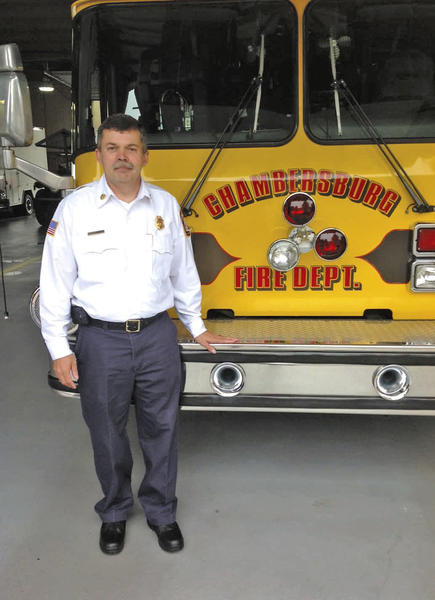 Howard Butch Leonhard is the new assistant emergency services chief in the Borough of Chambersburg, Pa.