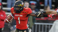 Maryland punt returner Stefon Diggs trying to learn when to take risks