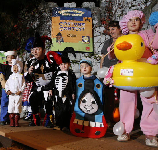 Costume contest at LEGOLAND'S Brick or Treat Party Nights
