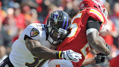Mike Preston grades the Ravens' 9-6 win over the Kansas City Ch…