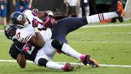 JACKSONVILLE, Fla. — <strong>Alshon Jeffery</strong> will undergo an X-ray on his swollen right hand Monday and the Bears are hopeful the rookie wide receiver is not seriously injured.