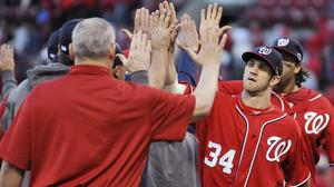 Game 1: Nationals rally to beat Cardinals 3-2