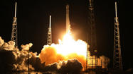 <b>Pictures: </b> SpaceX rocket launch at Cape Canaveral