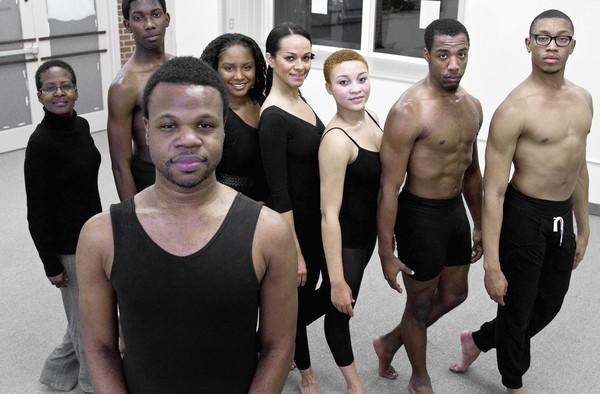 Director David Riddick and dancers from his Beauty for Ashes company will perform Oct. 12-13, 2012, at The American Theatre in Hampton. In front - David Riddick...In Back - Anita Blackman, Darrell Shields, Carmen Craighead, Liza Smith, Davida Lassiter, Calan Bryant and Javon Rondo.
