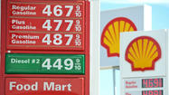 Gas prices in California hit new record high at $4.67 a gallon