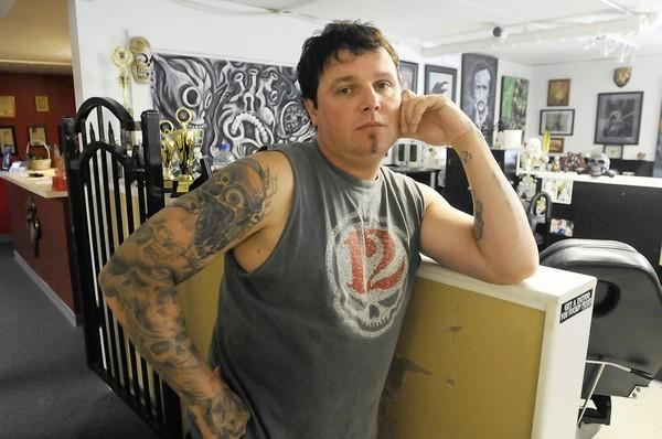 "Groton tattoo artist Steve Tefft is one of 16 tattooists nationwide who will participate in this year's season of the Spike TV reality show ""IInk Master,"" which debuts on Tuesday, Oct. 9."