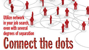 Reach out to distant contacts in your job network