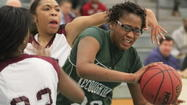 "<span style=""font-size: small;"">Kecoughtan center Chelsey Romero became the program's first player in perhaps 20 years to commit to a Division I program over the weekend when she chose Marshall University.</span>"