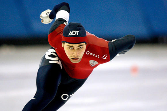 Jeff Simon at the 2009 U.S. Championships (Matthew Stockman / Getty Images)