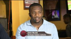 Redskins Linebacker Chris Wilson