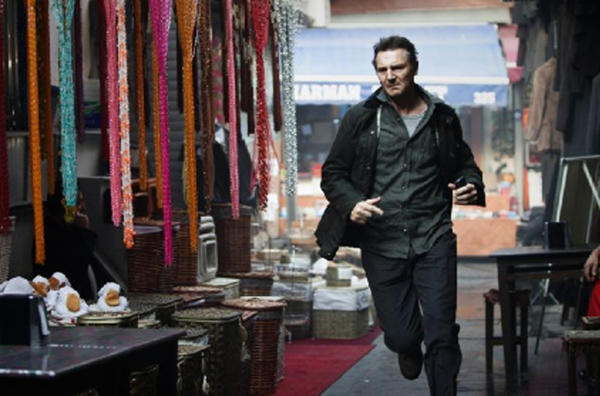 "Liam Neeson stars in ""Taken 2."""
