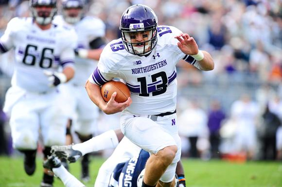 Northwestern quarterback Trevor Siemian. Evan Habeeb/US PRESSWIRE photo