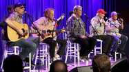 <em>The Beach Boys recent 50th anniversary tour reunited original members Brian Wilson, Mike Love, Al Jardine, David Marks and longtime member Bruce Johnston for the first time in almost two decades. </em>