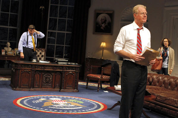 "Ed Begley Jr. and Rod McLachlan star in ""November."""