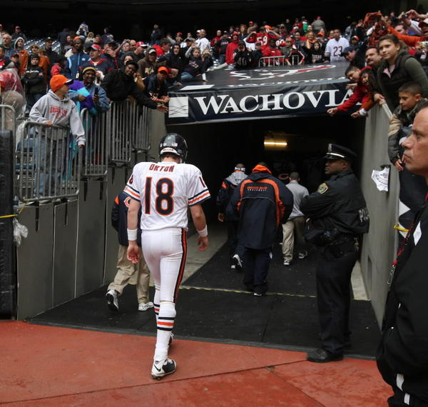 Luckily for the Bears, Kyle Orton won't be under center when they take on the powerhouse Texans this year.
