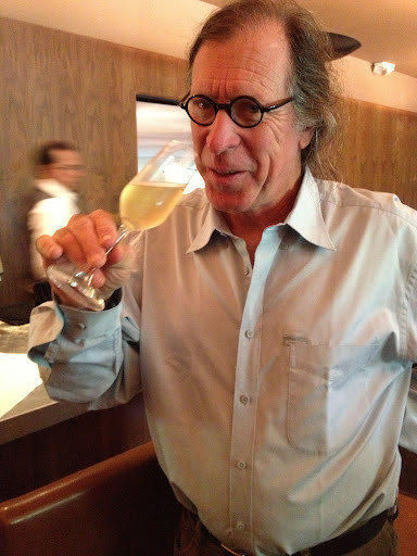 Winemaker Randall Grahm at Jar restaurant.