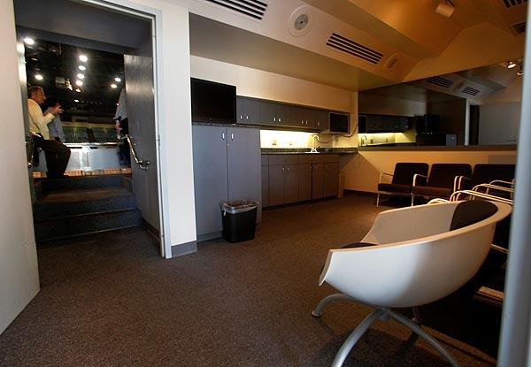 Sports Arena luxury suite