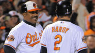Buck backs DeMarlo Hale and J.J. Hardy after baserunning miscommunication