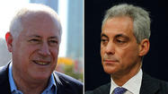Gov. Pat Quinn on Monday accused Mayor Rahm Emanuel of character assassination after the mayor raised concerns about the qualifications of the governor's pick to lead the agency that operates U.S. Cellular Field.