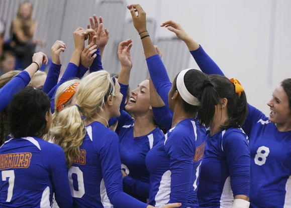 West Orange, shown here in a game against Apopka, edged Freedom 3-2 on Monday. (Stephen M. Dowell/Orlando Sentinel)