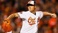 With ample rest, Wei-Yin Chen shines in postseason debut