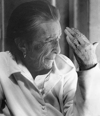 Louise Bourgeois in 2003.<br>