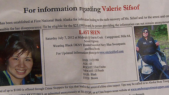 Valerie Sifsof Searchers Find Sweatshirt Near Six Mile Creek