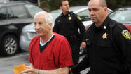 BELLEFONTE, Penn. -- Former Penn State football coach Jerry Sandusky will likely spend the rest of his life in prison, after a judge handed down a prison sentence Tuesday for his convictions on child sexual abuse charges.