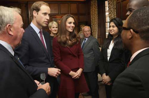 Las fotos más recientes de William y Kate.