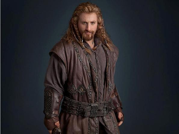 "There are 13 dwarfs to choose from in ""The Hobbit,"" which hits theaters in December. This is Fili. Key accessory here is a braided wig. Good luck."