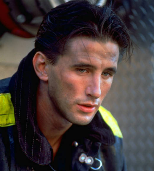 More than 20 years before the 'Chicago Fire' crew took the scene, William Baldwin was showing how gorgeous the Windy City's firefighters could be. Will the NBC show pay homage by staging a love scene on top of a firetruck?