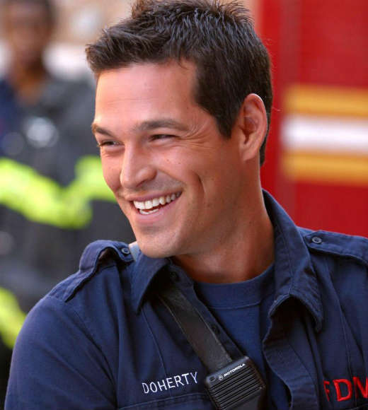 Eddie Cibrian played the gorgeous, cocky New York firefighter -- someone so hot, that even appearing in a Viagra ad couldn't keep him from getting women.