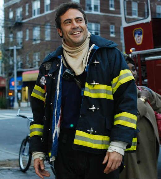 Critics hated this romantic comedy, but it's hard to deny that actor Jeffrey Dean Morgan fulfills the requirements of a hunky fireman.