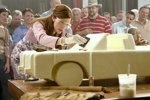 "Jennifer Garner stars in the new film ""Butter."" She plays a championship butter sculptor in Iowa."