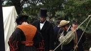 Civil War reenactment in Wickham Park
