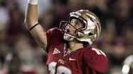 TALLAHASSEE -- Dustin Hopkins wanted one more opportunity. But it wasn't meant to be. Florida State coach Jimbo Fisher had other plans in mind: he wanted to punt.