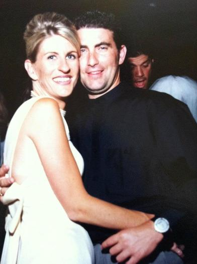 Christy and Paul Wilson. Christy was killed in the Seal Beach salon shootings a year ago.