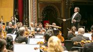 CSO battles hot, dry hall but basks in warmth of audience