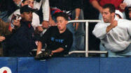 Sixteen years later, Jeffrey Maier revisits infamous moment in Yankee Stadium